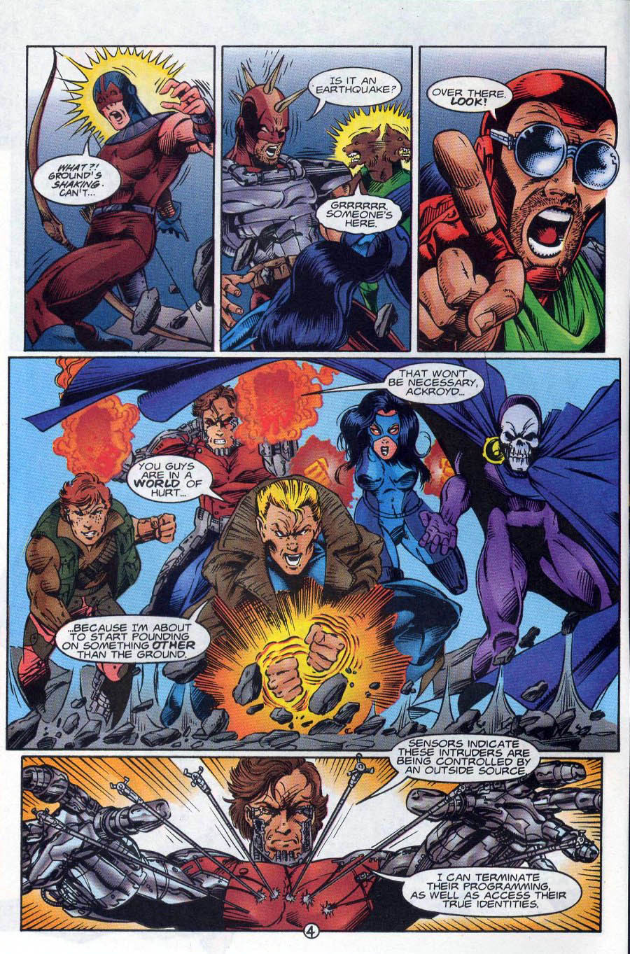 Read online Ex-Mutants comic -  Issue #18 - 5