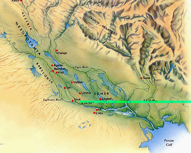 Rios Tigre e Eufrates - Ásia