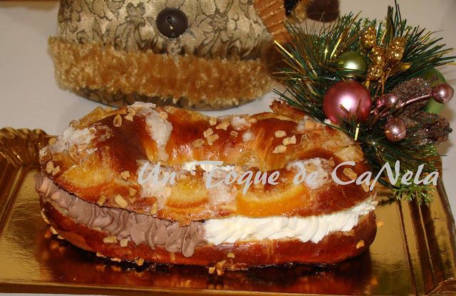 Roscón De Reyes  De Trufa Y Nata