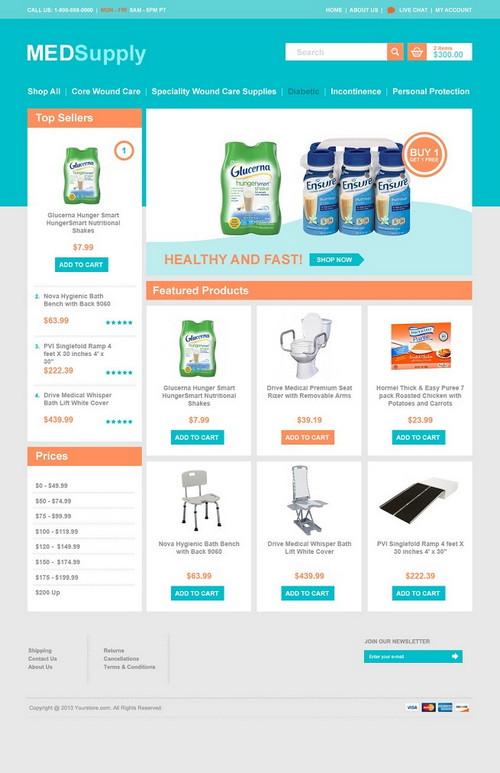 Top 10 3DCart eCommerce Templates