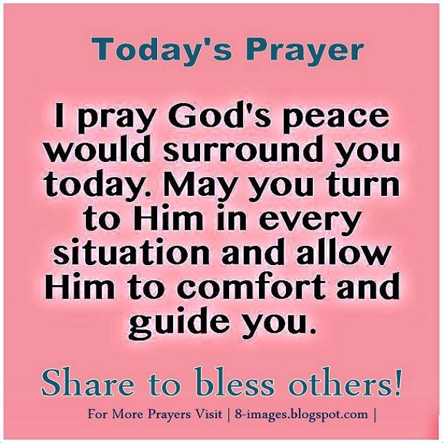 Prayer For Gods Peace Quotes