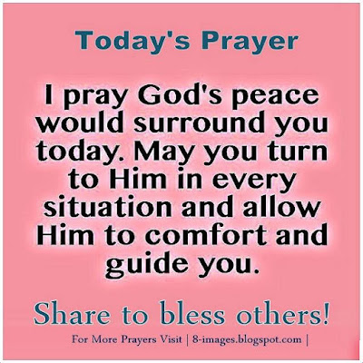 """Prayer For God's Peace"""