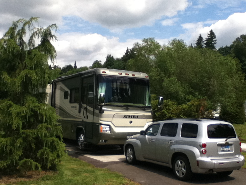 From Forida On 2011 Lake Pleasant Rv Park Bothell Wa