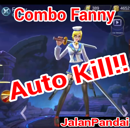 Tips Combo Fanny paling cepat