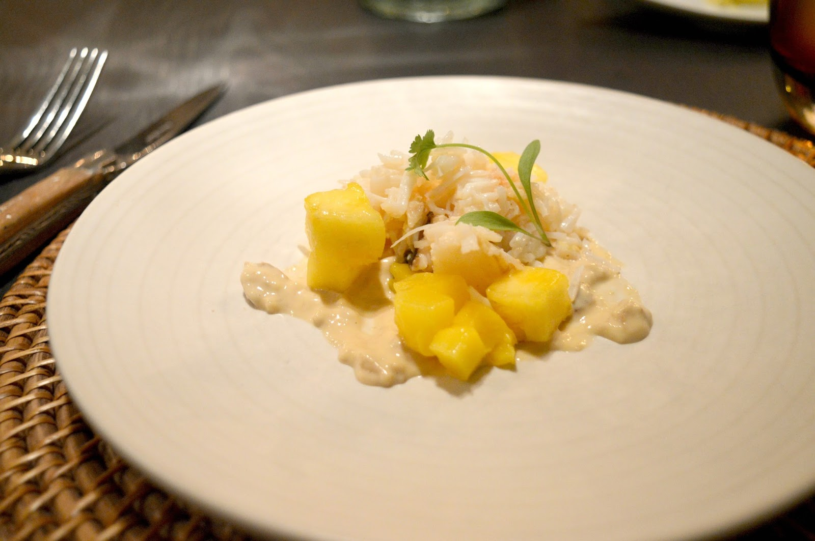 Cosy Hotel in the Cotswolds - The Painswick Crab Salad