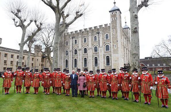The Prince of Wales and The Duchess of Cornwall visited the Cabinet Office and Tower of London. VisitBritain