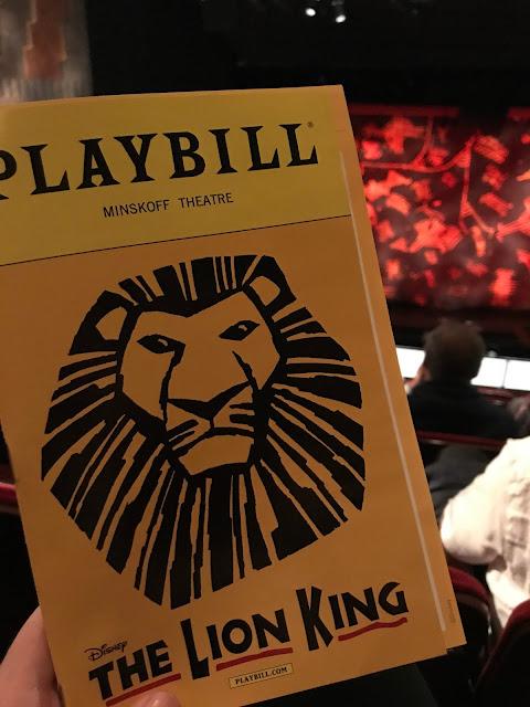 Lion King - Broadway