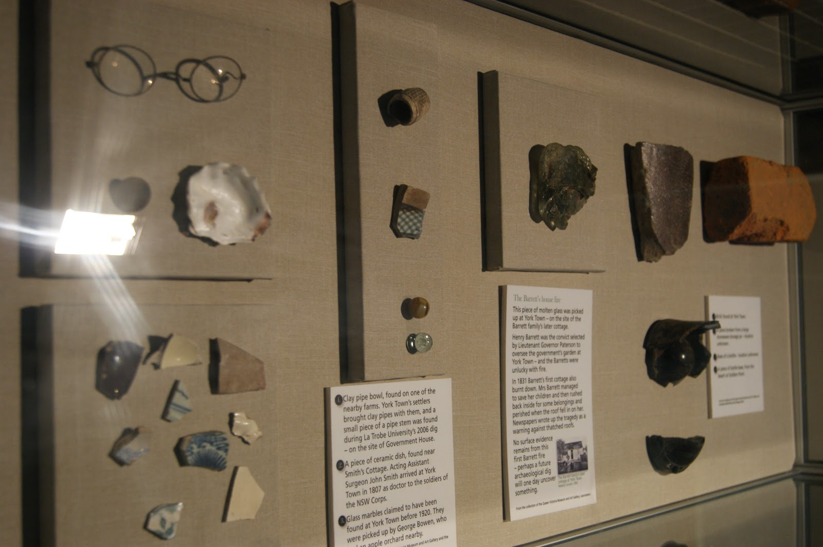 On The Convict Trail: York Town Historic Site