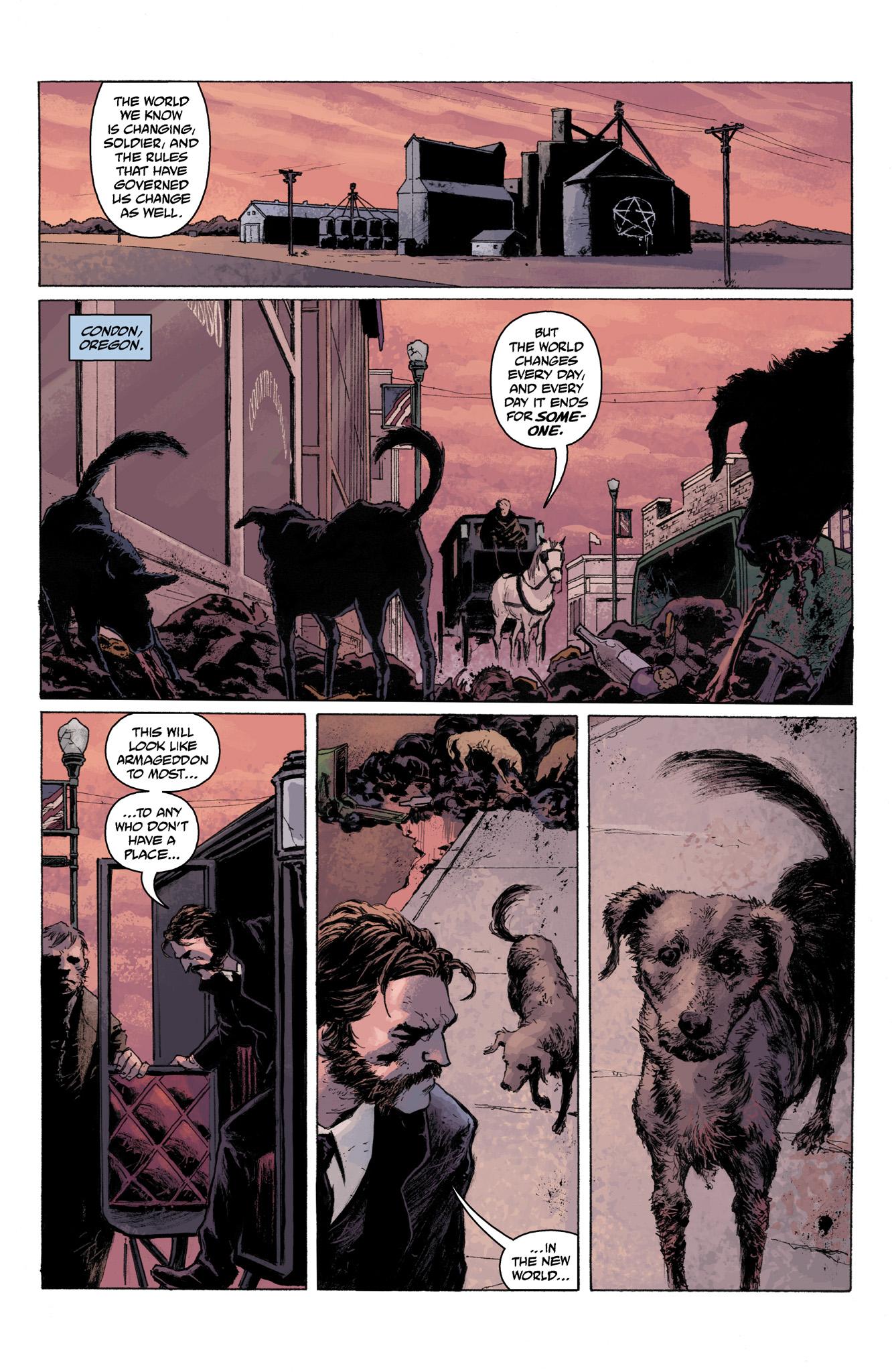 Read online Abe Sapien comic -  Issue #6 - 22