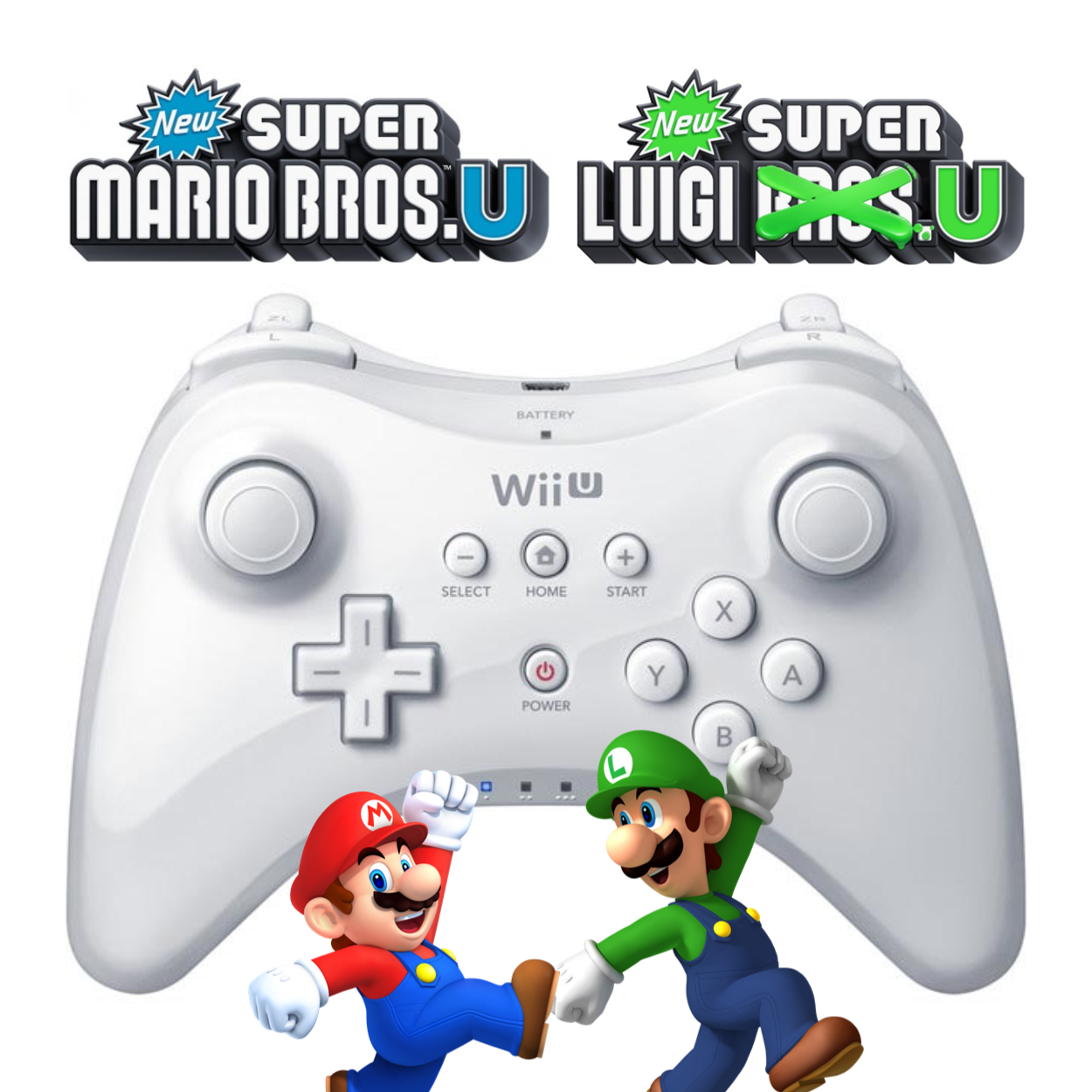 Pro Controller Support Coming To New Super Mario Bros U New