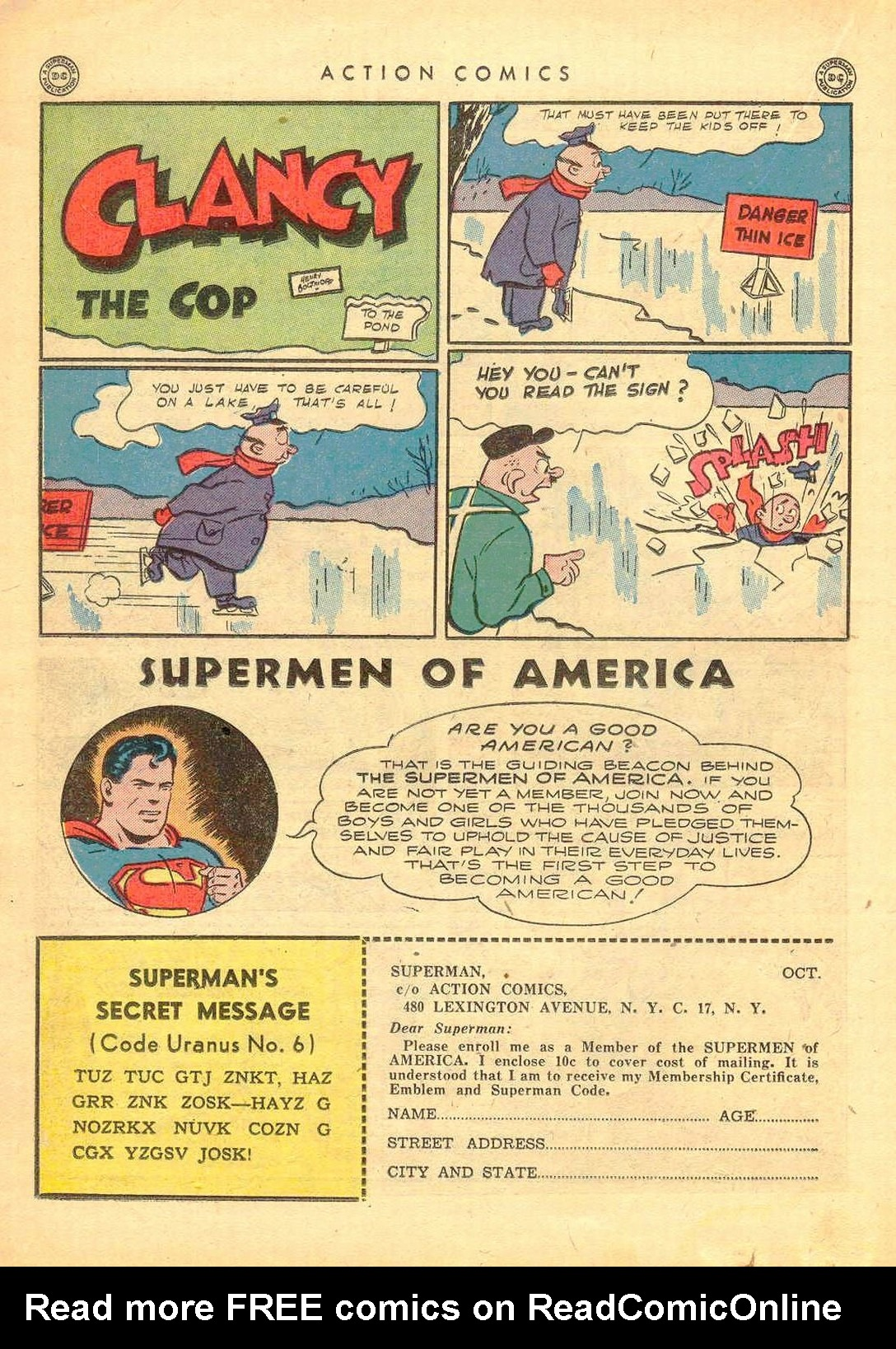 Read online Action Comics (1938) comic -  Issue #77 - 31