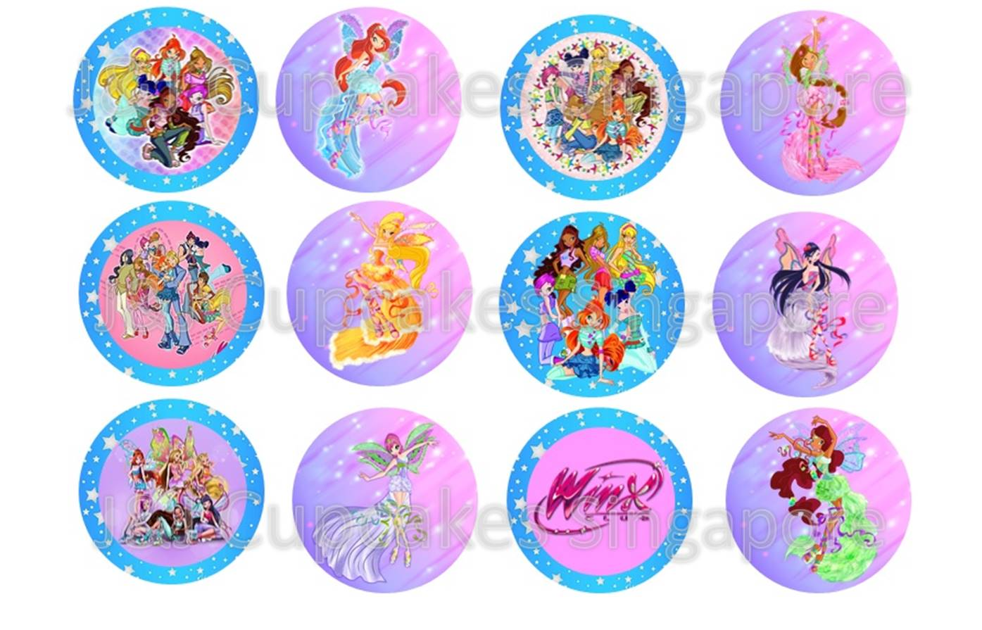Winx Club Cake Toppers Singapore
