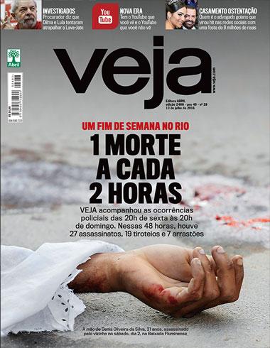 Revista Veja – Edição 2486 – 13.07.2016