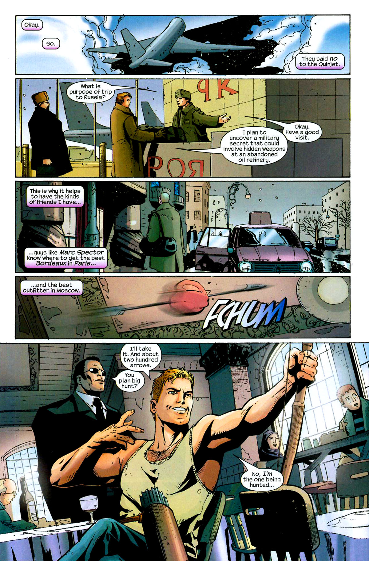 Hawkeye (2003) Issue #8 #8 - English 9