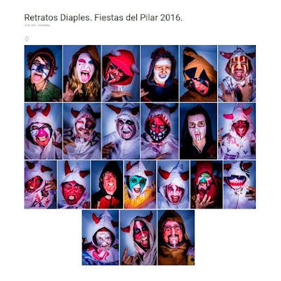 fotos de retratos de Os Diaples d'a Uerba