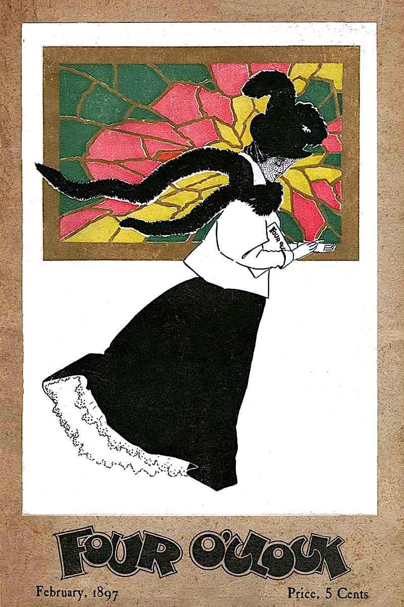 Four O'Clock magazine 1897,