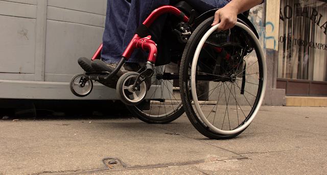 Ruas para deficientes físicos em Santiago do Chile