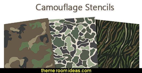 camo stencils camouflage stencils home decorating stencils