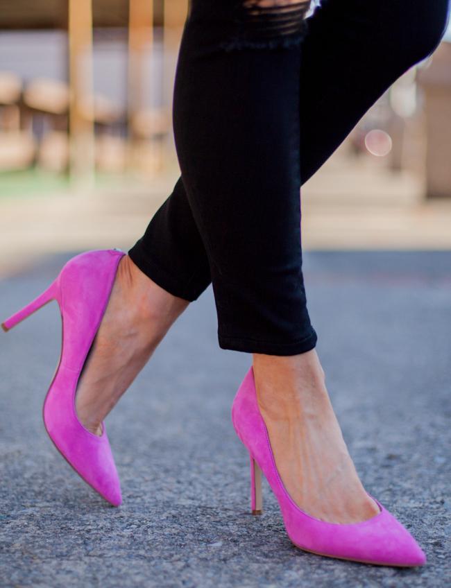 sam edelman pink hazel pumps