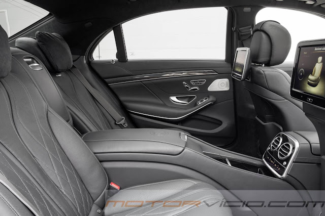 2014 Mercedes-Benz S63 AMG - interior