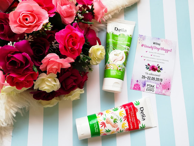 #beautydaysblogger i kremy do rąk od marki Delia