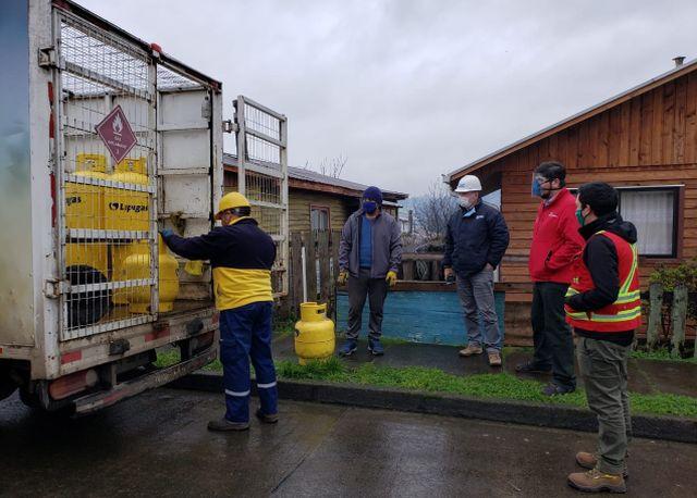 """Fiscalizan entrega de """"balones de gas"""" en pandemia"""