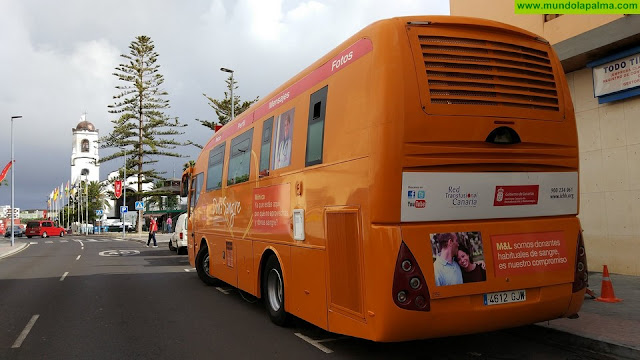 Una unidad móvil del ICHH recorrerá La Palma en su tradicional campaña de donación de sangre
