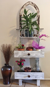 Vintage Wrought Iron Planter