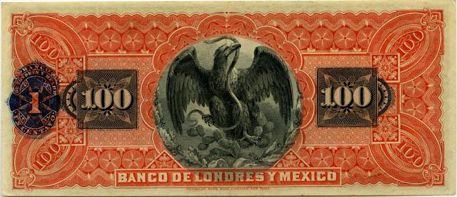 Mexico Billete 100 pesos