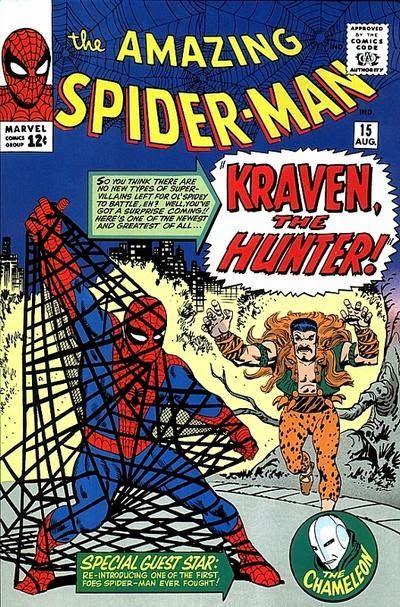 Spider-Man #15, Kraven the Hunter