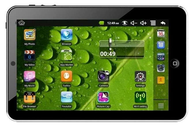 "Download do Sistema / Rom do tablet tela 7"" Via 8650"