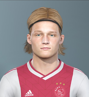 PES 2019 Faces Kasper Dolberg by Sofyan Andri