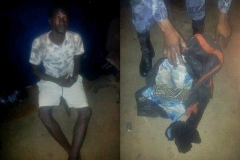 Man Carrying Severed Head Of A Woman Arrested At NPP Rally Ground (PHOTO)