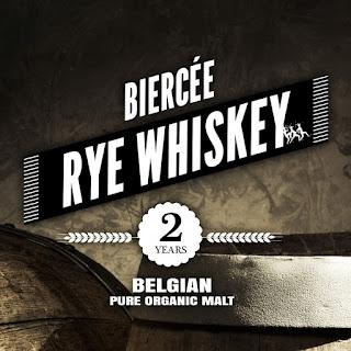 Distillerie de Biercee Organic Rye whiskey