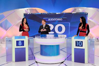 Paulinha, Silvio e Helen (Crédito: Lourival Ribeiro/SBT)