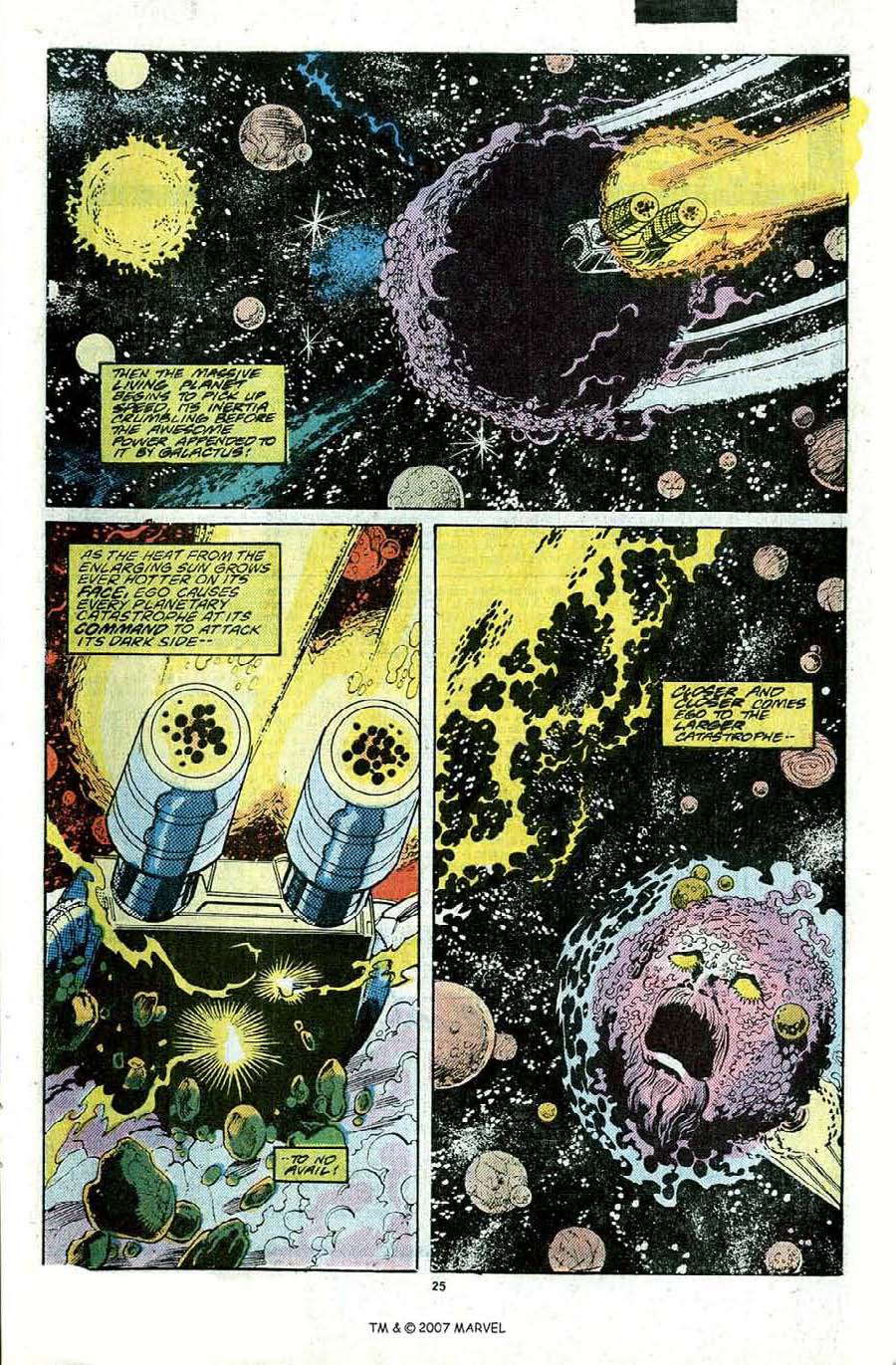 Read online Silver Surfer (1987) comic -  Issue #22 - 27