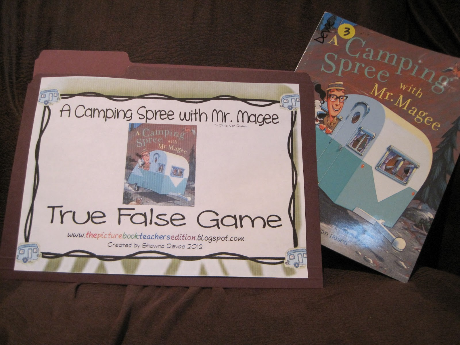 A Camping Spree With Mr Magee By Chris Van Dusen Teaching Ideas The Picture Book Teacher S Edition