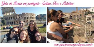 Coliseu FOro Palatino GUia portugues - O nosso city tour Anjos e Demônios