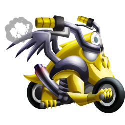 Appearance of Motorbike Dragon when baby