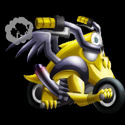 Dragon Moto apparence de l'enfant