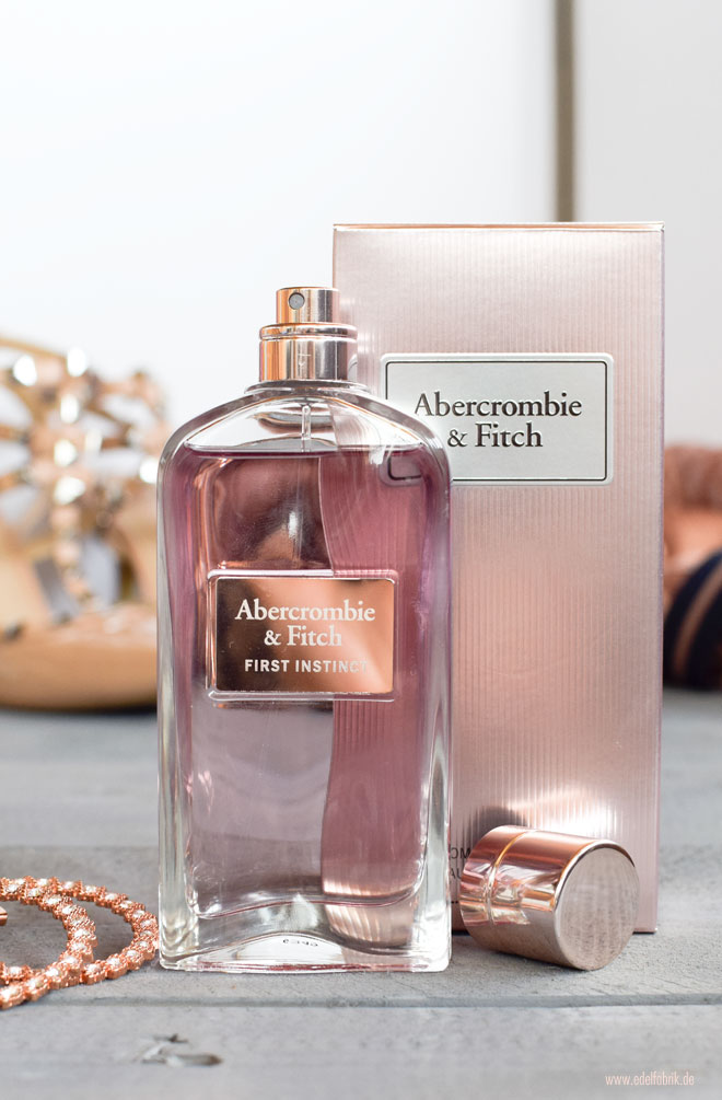 wie riecht das neue Parfum Abercrombie & Fitch First Instinct for her