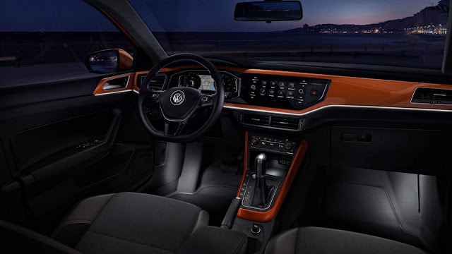 VW Polo 2018 Highline - interior
