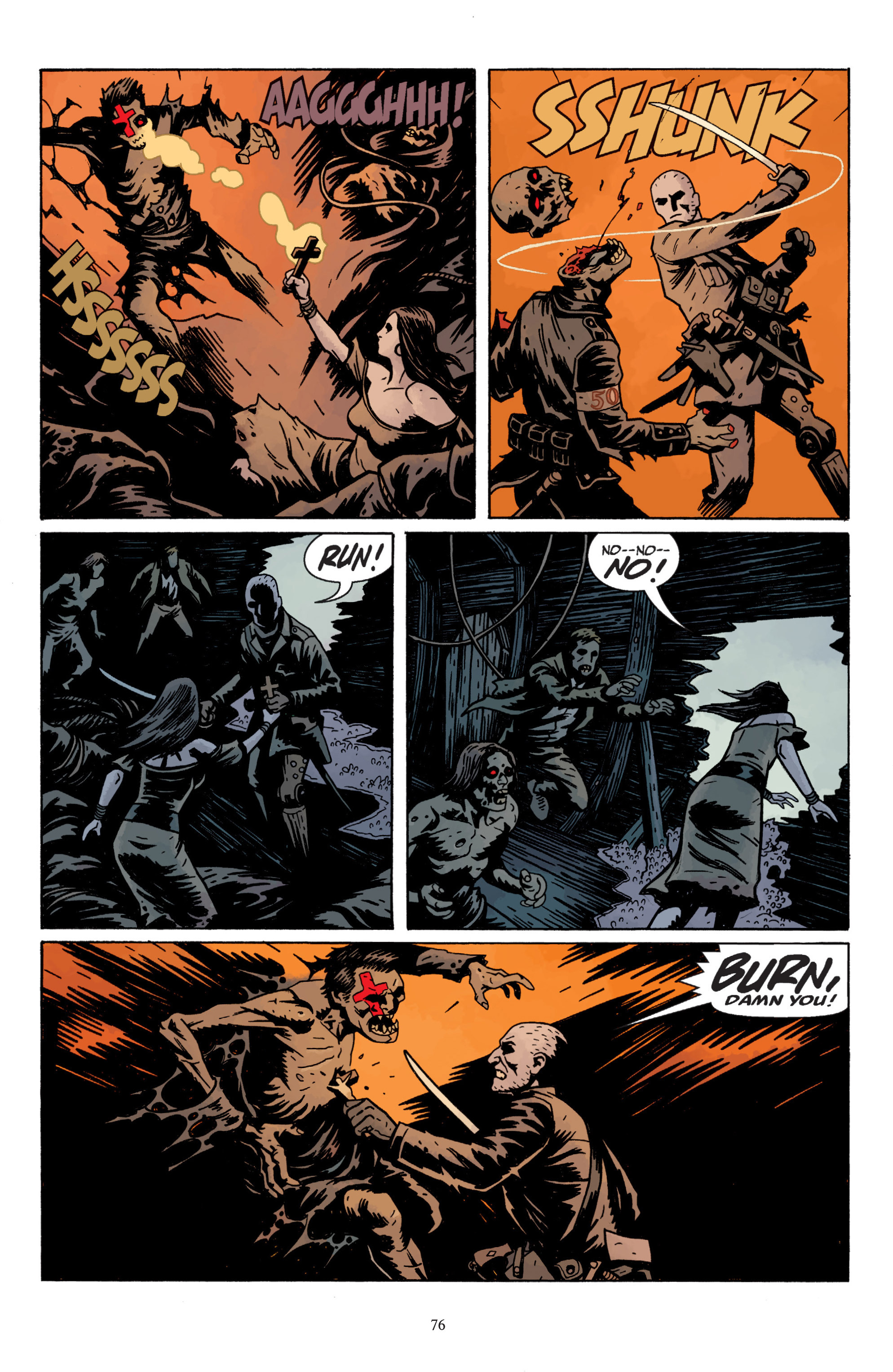 Read online Baltimore: The Plague Ships comic -  Issue # TPB - 78