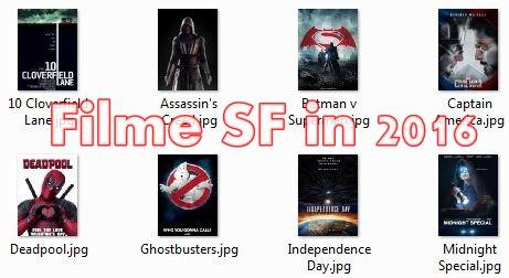 Cele mai asteptate filme SF in 2016