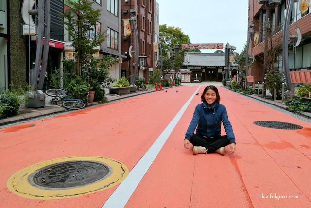 Orange Street Asakusa Tokyo Japan