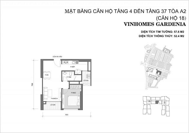 18 - Tòa A2 Vinhomes Gardenia