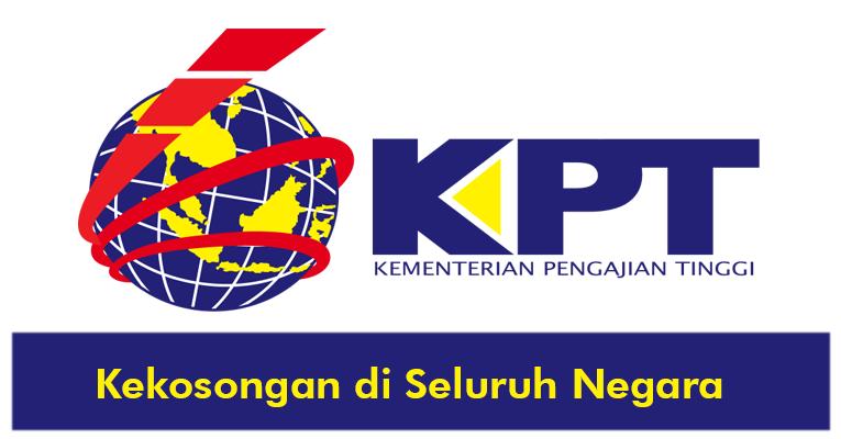 Jawatan Kosong di Kementerian Pendidikan Tinggi KPT