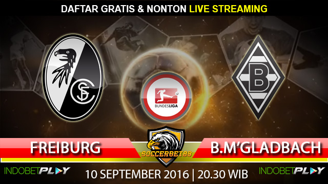Prediksi Freiburg vs Monchengladbach 10 September 2016 (Liga Jerman)