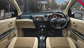 Interior Honda Brio