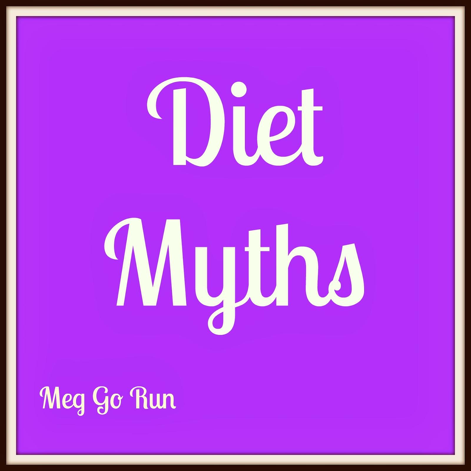 Meg Go Run: Eating Fat Makes You Fat- DIET MYTHS!
